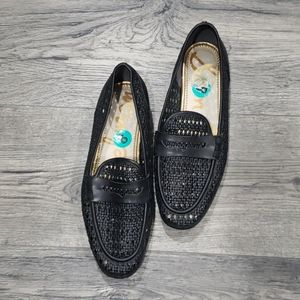 Sam Edelman Lattice Loafer Flats